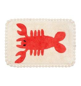 Indaba Trading Inc Lobster Crochet Bath Mat