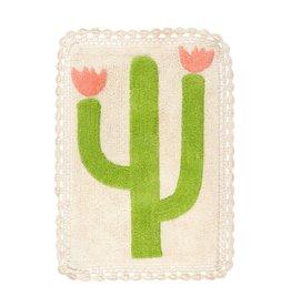 Indaba Trading Inc Desert Rose Crochet Bath Mat