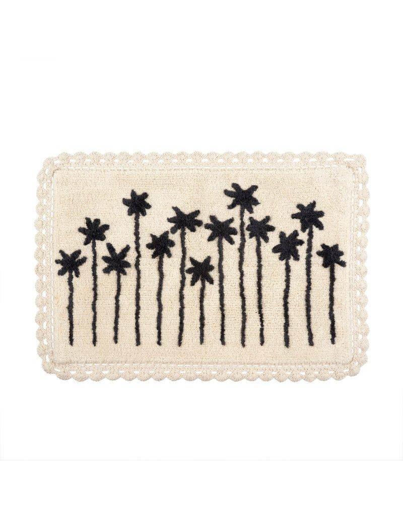 Indaba Trading Inc Palm View Crochet Bath Mat