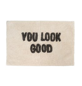 Indaba Trading Inc You Look Good Bath Mat