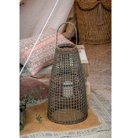 Indaba Trading Inc Cebu Rattan Lantern-Small