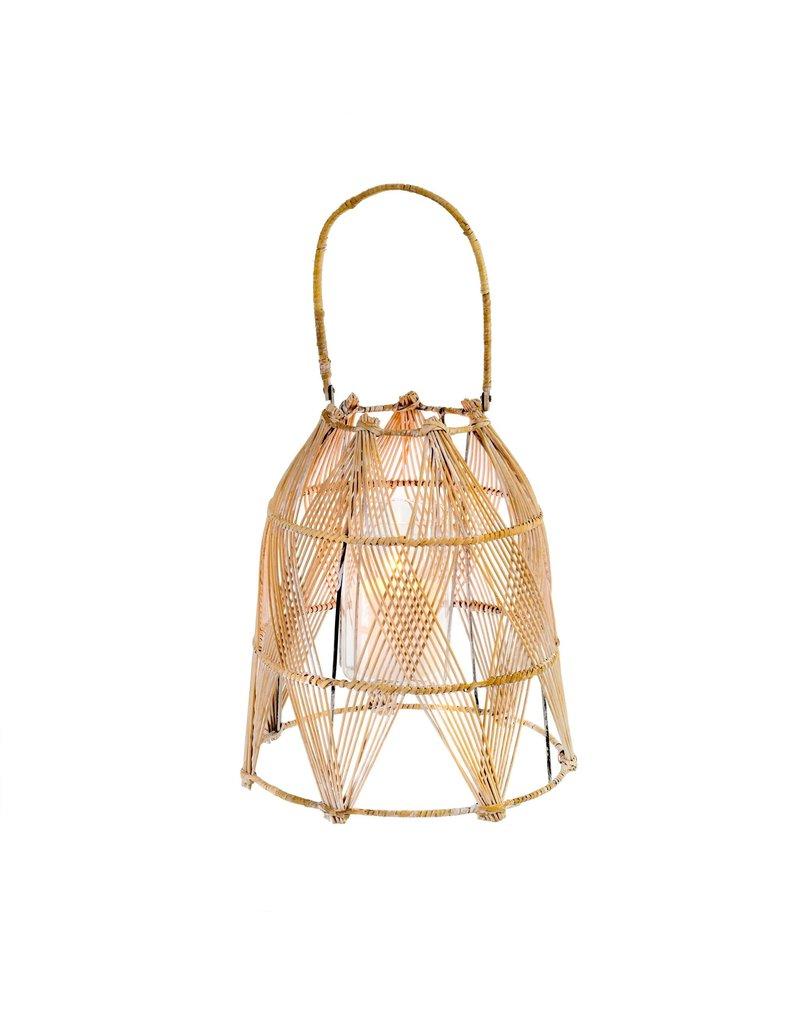 Indaba Trading Inc Santorini Rattan Lantern