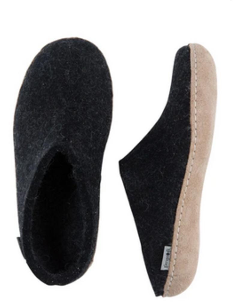 Glerups Glerups-Open Heel-Charcoal