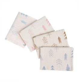 Indaba Trading Inc Festive Tree Tea Towels S/4