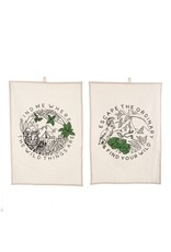 Indaba Trading Inc Wild Thing Tea Towels S/2