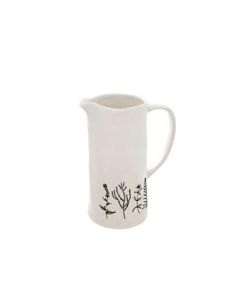 Indaba Trading Inc Botanica Pitcher-Small