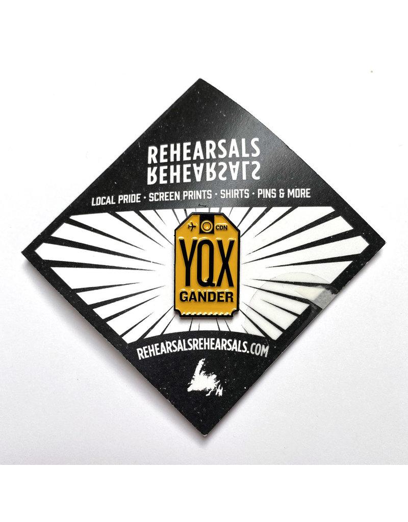 Jud Haynes Rehearsals- YQX Gander-Enamel Pin
