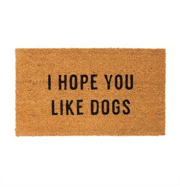 Indaba Trading Inc I Hope You Like Dogs Doormat