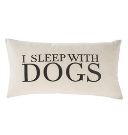 Indaba Trading Inc Sleep With Dogs Cushion
