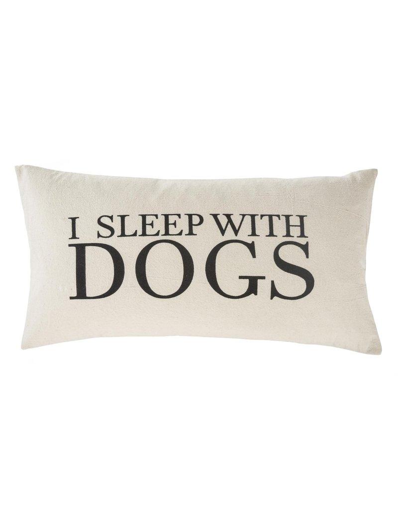 Indaba Trading Inc Sleep With Dogs Cushion