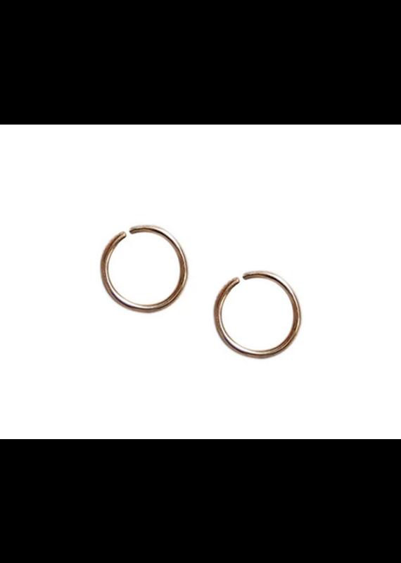 Strut Jewelry Strut-Sleeper Hoop-Gold