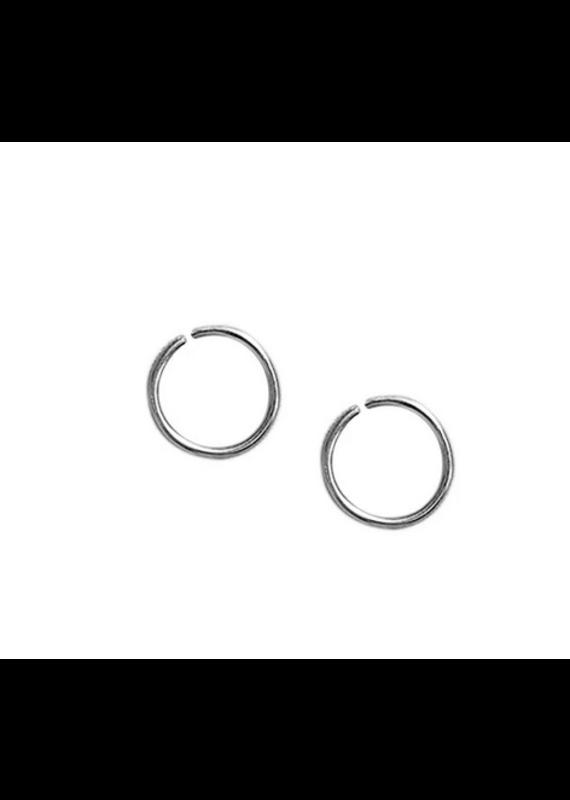 Strut Jewelry Strut-Sleeper Hoop-Sterling Silver