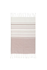 Indaba Trading Inc Copy of Turkish Hand Towels-Set of 4-Grey