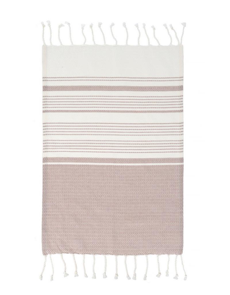 Indaba Trading Inc Turkish Hand Towels-Set of 4-Purple