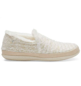 TOMS Toms-India Slipper-White Metallic