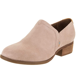 TOMS Toms-Shaye Bootie-Blush Suede