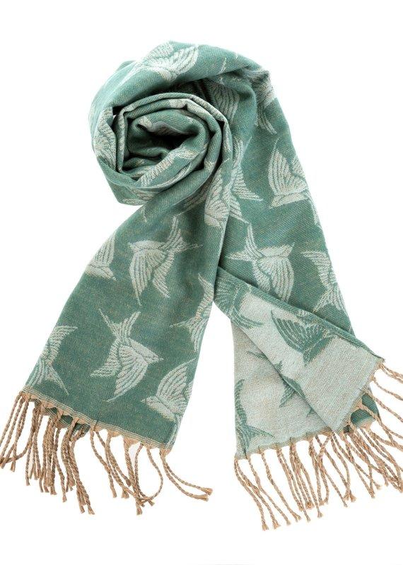 Indaba Trading Inc Birdie Blanket Scarf
