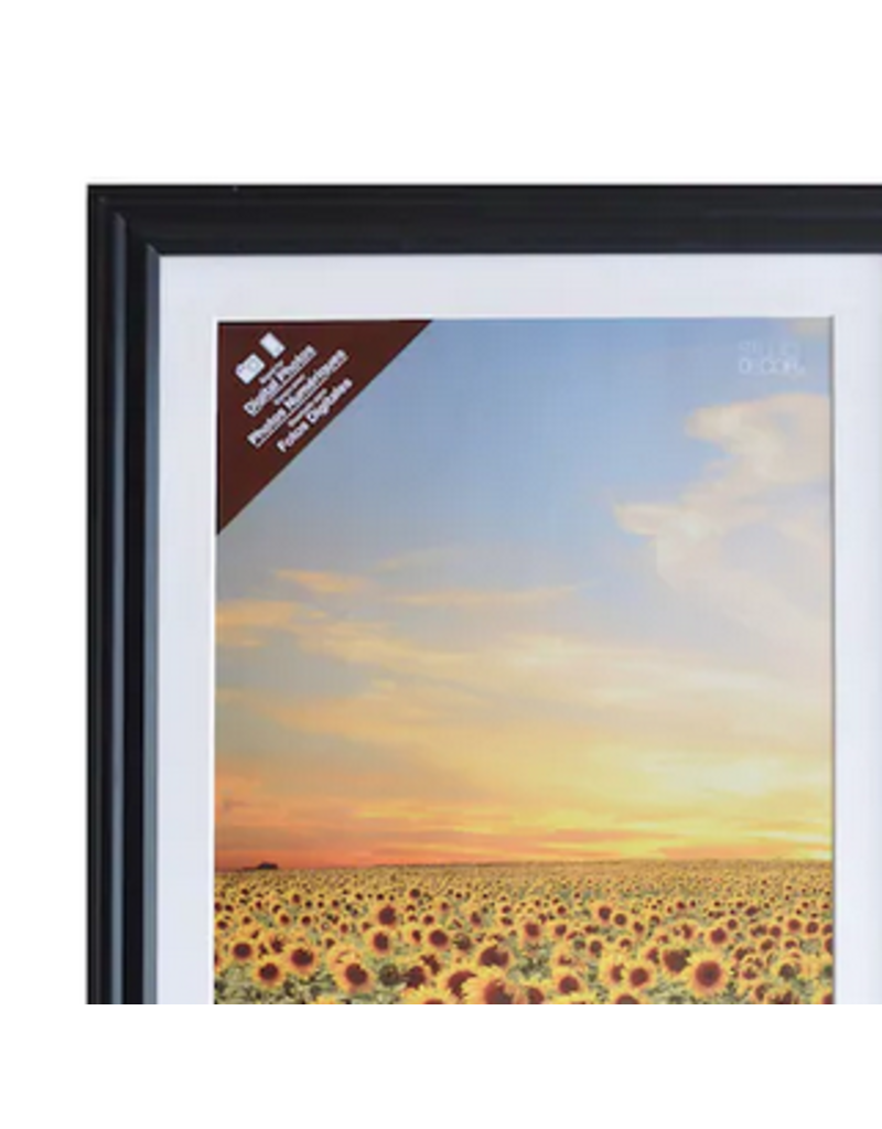 Twisted Sisters boutik Frame 15x21-Black (Matted to 12x18)