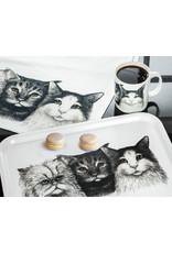 Abbott Abbott-3 Cats Tea Towel