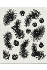 Abbott Abbott-Pinecone & Branches Dish Cloth