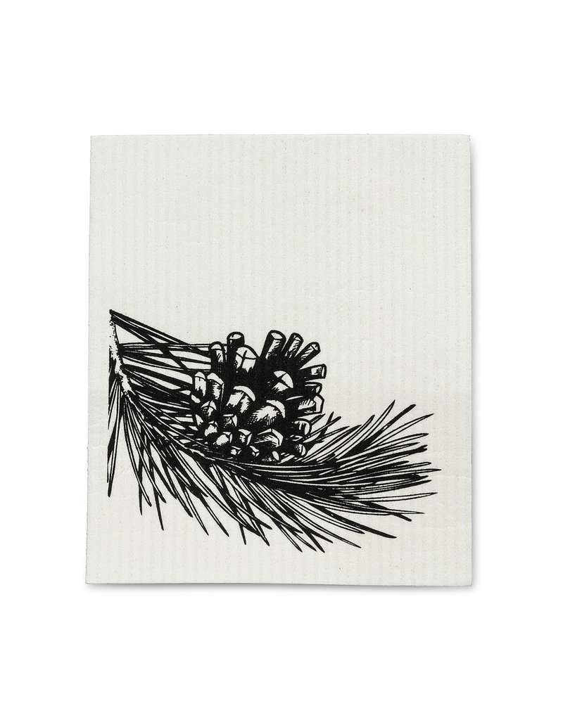 Abbott Abbott-Pinecone & Branches Dish Cloth
