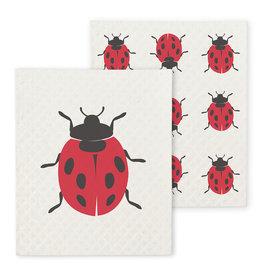 Abbott Abbott-Ladybug Dishcloths