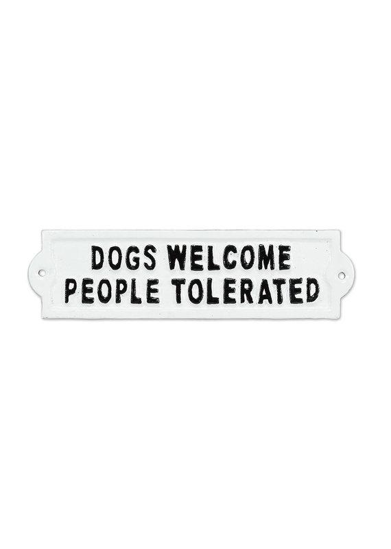 Abbott Abbott-Dogs Welcome Sign