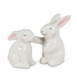 Abbott Abbott-Polka Dot Bunny-Salt &Pepper