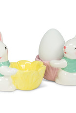Abbott Abbott-Sitting Bunny Egg Cup