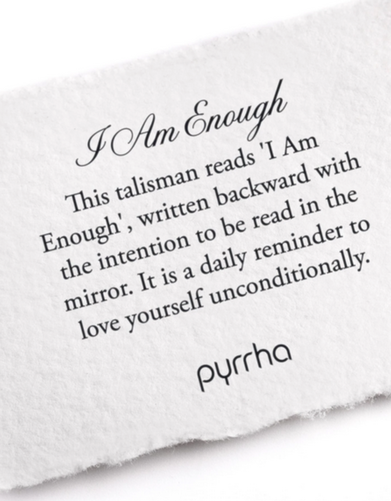 Pyrrha Pyrrha-I Am Enough