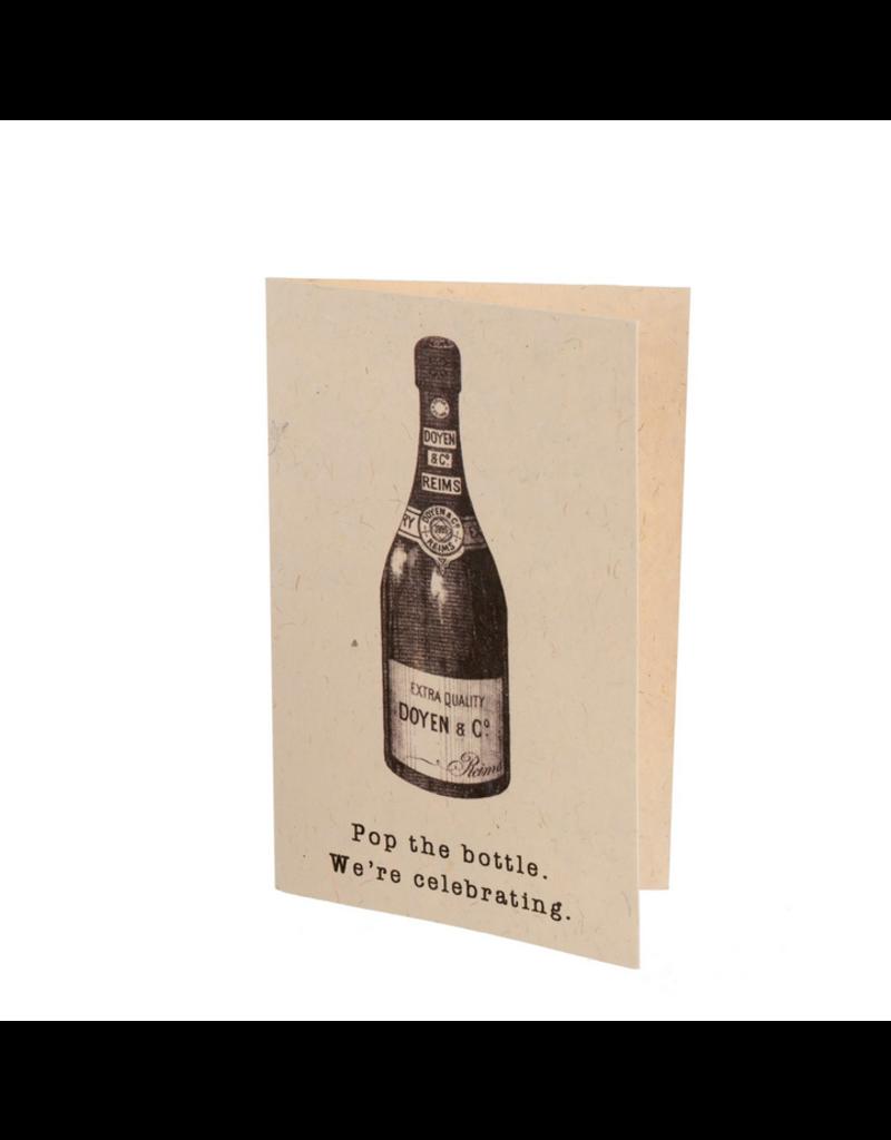 Indaba Trading Inc Pop The Bottle Card