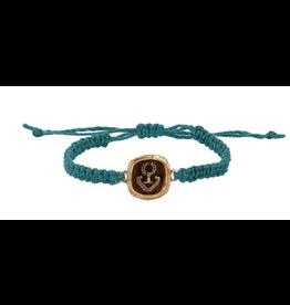 Pyrrha Pyrrha- Inner Strength Braided Bracelet-Bronze