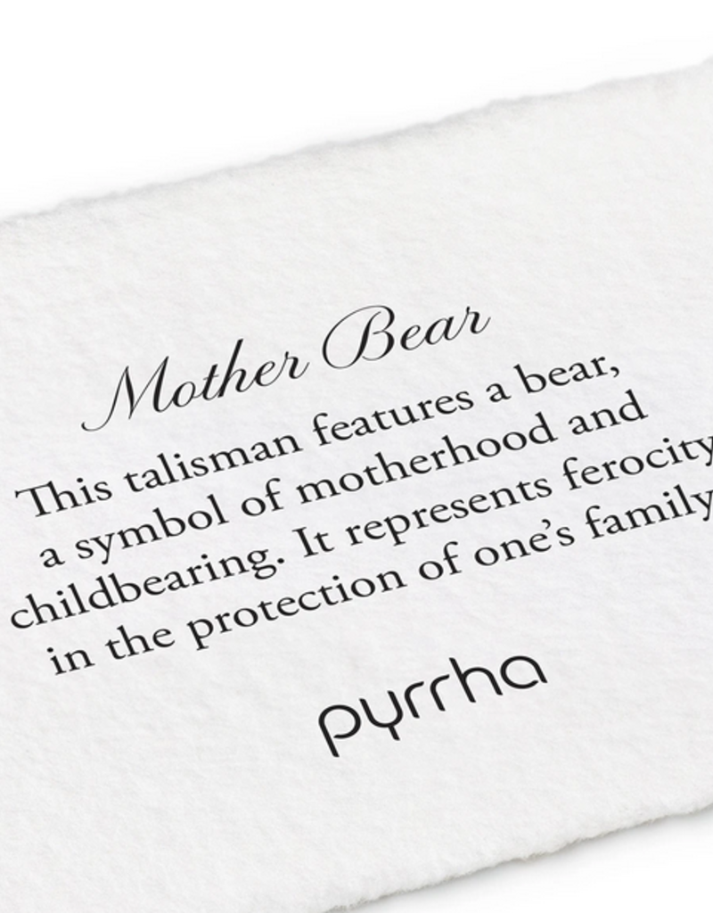 Pyrrha Pyrrha-Mother Bear