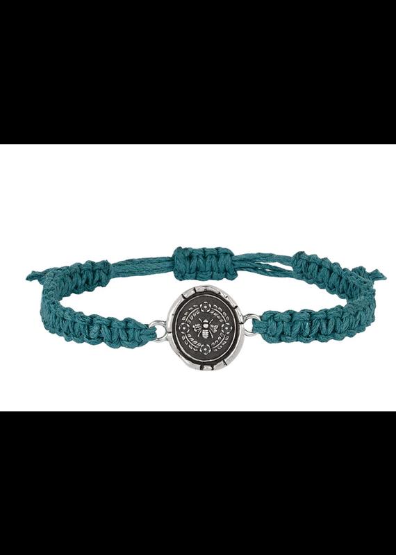 Pyrrha Pyrrha-Honeybee Braided Bracelet