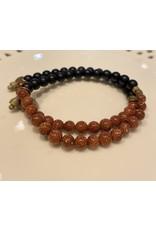 HEN Jewelry Goldstone Bracelet