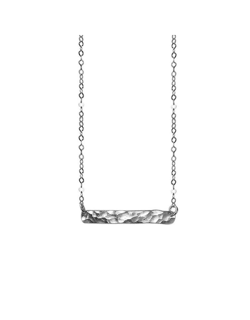 Strut Jewelry Hammered Mini Bar-Sterling Silver