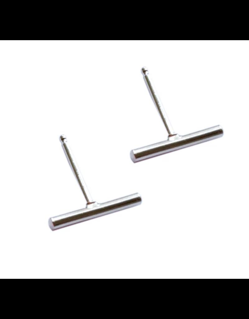 Strut Jewelry Stick Studs -Sterling Silver