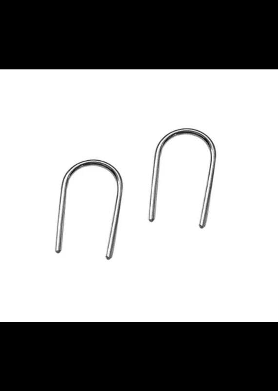 Strut Jewelry Ear Pins -Sterling Silver