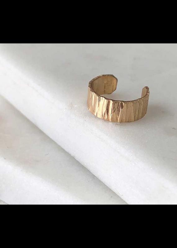 Strut Jewelry Wide Ear Wrap-Gold Fill