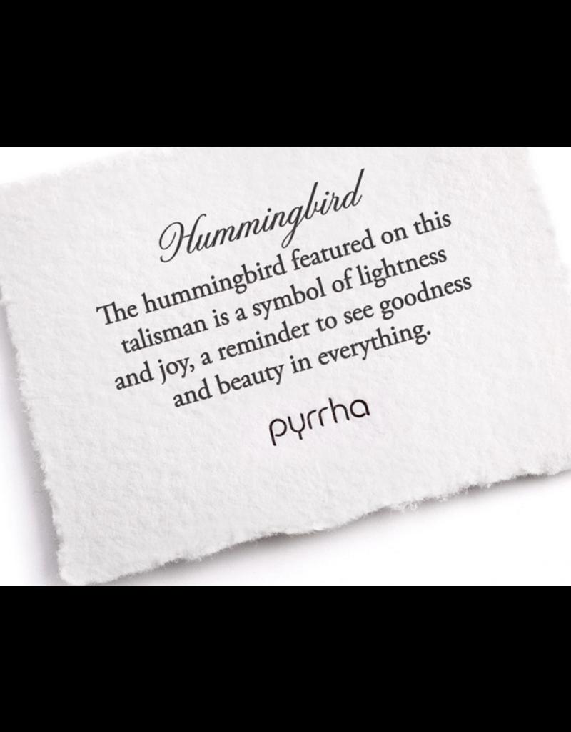 Pyrrha Pyrrha-Hummingbird 14K Gold on Silver