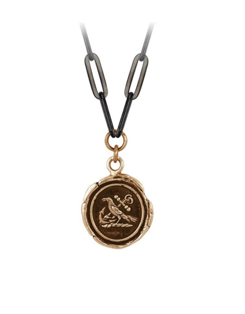 Pyrrha Pyrrha- Anchor Your Mind w/ Large Paperclip Chain
