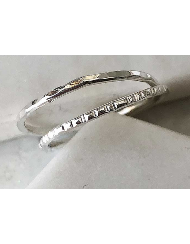 Strut Jewelry Sterling Silver Stacking Ring