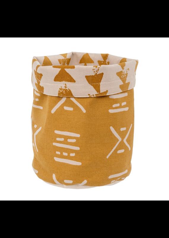 Indaba Trading Inc Fabric Basket-Wheat
