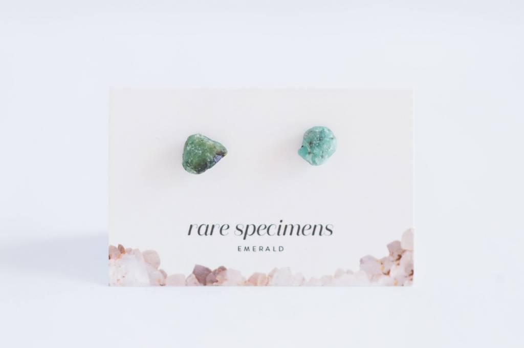 Rare Specimens Rare Specimens-Emerald Stud