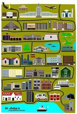 Junk Junk-Poster-CityScape-12x18