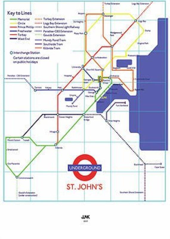 Junk Junk-Poster-St.John's Underground-12x18