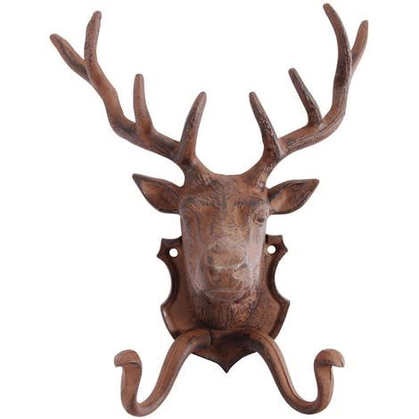North American Country Home Wall Deer Hook