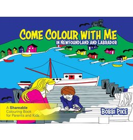 Breakwater Books Breakwater Books-Come Colour With Me