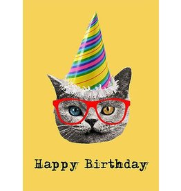 Junk Junk-Card-Birthday Cat