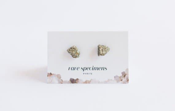 Rare Specimens Rare Specimens-Pyrite Stud